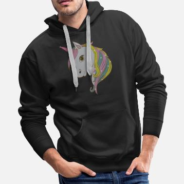 Cloud Perfect Gift Tee With An Illustration Of A - Men's Premium Hoodie
