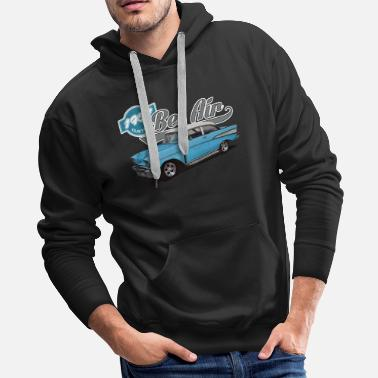 Air 1957 Chevrolet Bel Air - Men's Premium Hoodie