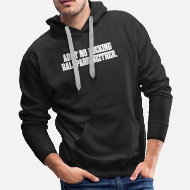 Fiction Pulp Fiction - Ain't No F**king Ballpark - Men's Premium Hoodie