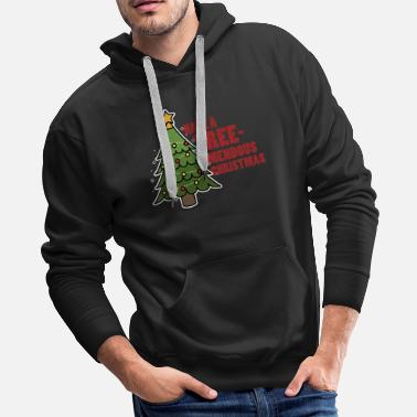 Santa Clause Christmas. XMas. Wine. Santa Clause. Elves. - Men's Premium Hoodie