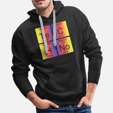 Music Star Techno Music Party Rave Raver Gift - Men's Premium Hoodie