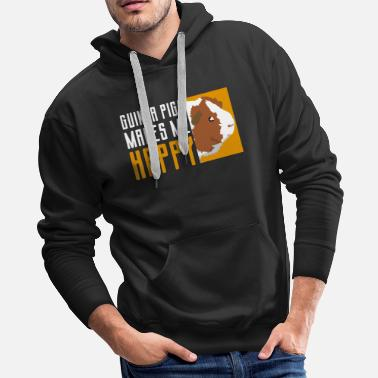 Made Guinea Pig Happy - Men's Premium Hoodie