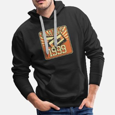 1999 20th Birthday Gift for Men And Women Born in 1999 - Men's Premium Hoodie