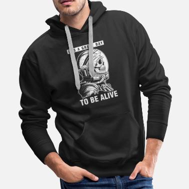 Outerspace Scientist Galaxy Outerspace Planets Gift It's A - Men's Premium Hoodie