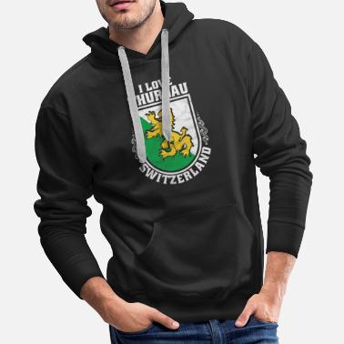 Travel Switzerland Swiss Gift Idea - Men's Premium Hoodie
