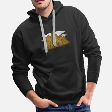 South Africa Andes Mountain Gift - Men's Premium Hoodie