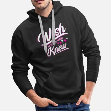 Hockey Wish My Hockey Mom Knew - Men's Premium Hoodie