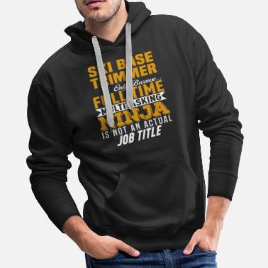 Based Ski Base Trimmer - Men's Premium Hoodie