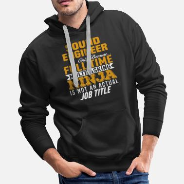 Sound Engineer Sound Engineer - Men's Premium Hoodie