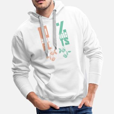 Bio Filled with plants - Men's Premium Hoodie