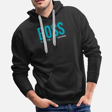 e04fd4cdb Successful Self Made Boss Acronym - Entrepreneur - Men's Premium Hoodie