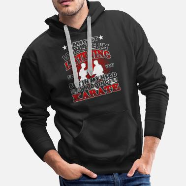 Fan Art More Karate - Men's Premium Hoodie