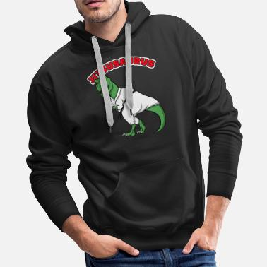 Double Meaning Jitsusaurus - Men's Premium Hoodie
