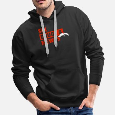 Newt Sex Drugs And Newts - Men's Premium Hoodie