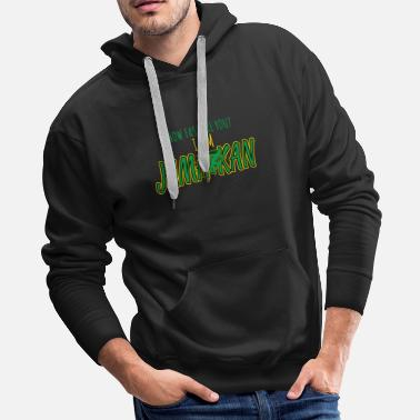 Congratulation How fast are you? I am Jamaikan - Men's Premium Hoodie