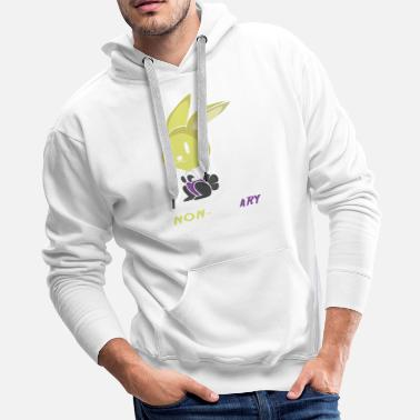 Binary Non-Bunary Non Binary Or Lgbt Pride Gift - Men's Premium Hoodie