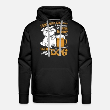 MESS Drink Beer and Hang with My Collie Hoodie