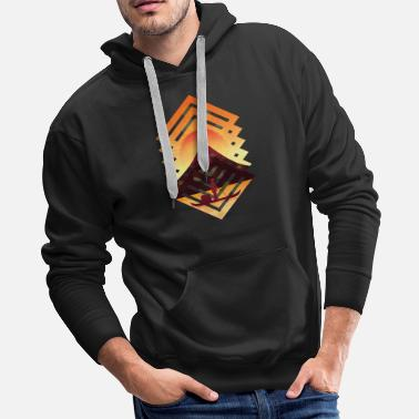 Asian Asian Landscape Sunset - Men's Premium Hoodie