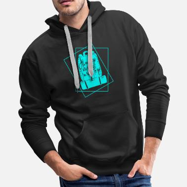 Hilarious All my bags are packed black, Gift, Gift Idea - Men's Premium Hoodie