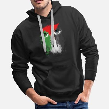 ab495f6c515 Palestinian Free Palestine Freedom - Men's Premium Hoodie