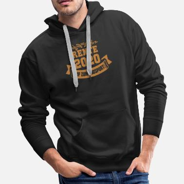 Pensioner Pension 2020 Pensioner - Men's Premium Hoodie