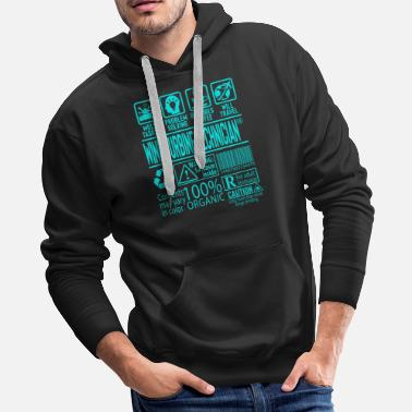 Birthday Wind Turbine Technician Gift - Men's Premium Hoodie