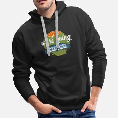 Quote Cabrewing Canoeing Rafting - Men's Premium Hoodie