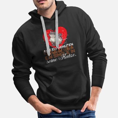 Wedding Day Every eleven minutes a single person falls in love - Men's Premium Hoodie