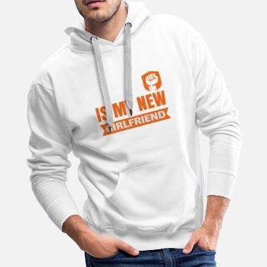 Fitness Bodybuilding gym workout gift sport - Men's Premium Hoodie