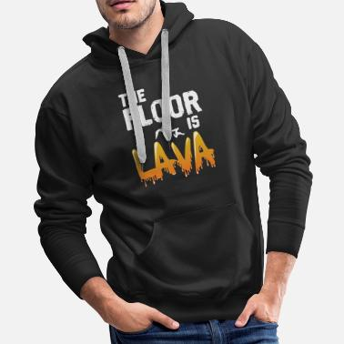 Transport The Floor is Lava - Men's Premium Hoodie