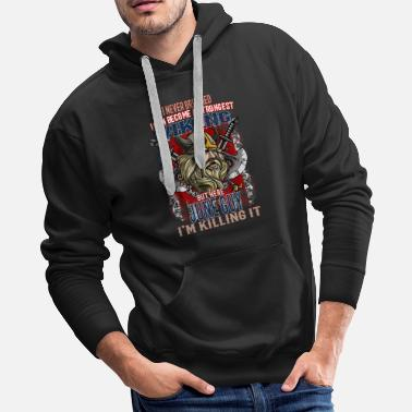 I never dreamed that I can become a strongest VIKI - Men's Premium Hoodie