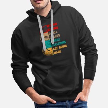 c0785f17da82 Supreme Ruth Bader Ginsburg Shirt Women Gift - Men  39 s Premium Hoodie