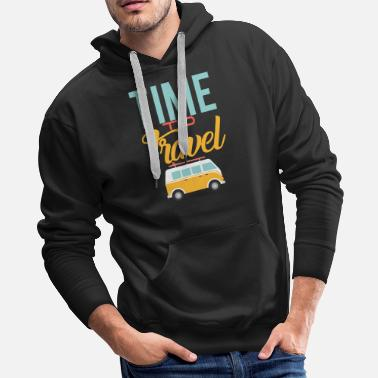 Aged Time to travel - Men's Premium Hoodie