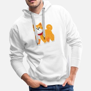 Hutning Shiba Inu Muscle Workout - Men's Premium Hoodie