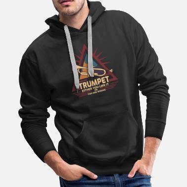 66328ace3 Shop Trumpet Hoodies & Sweatshirts online | Spreadshirt