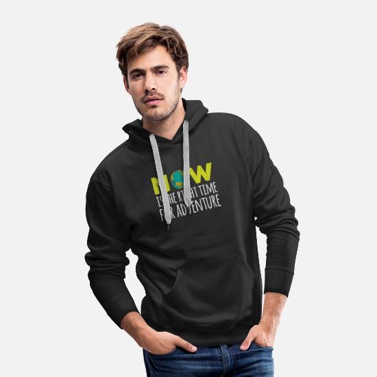 Funny Hoodies & Sweatshirts - summer sea vacation vacatione Quote funny awesome - Men's Premium Hoodie black