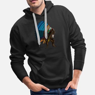 403cab5a1 Shop Native American Hoodies & Sweatshirts online | Spreadshirt