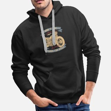 Malibu Amirecan Legend Born To Ride - Men's Premium Hoodie