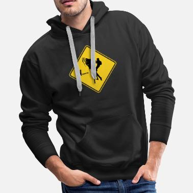 Yield Yield to the braaap - Men's Premium Hoodie