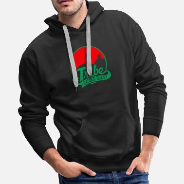 Tribe a_tribe_called_quest_green_red - Men's Premium Hoodie