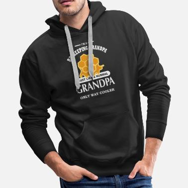 Beekeeper Beekeeper Bee Bees Honey quote present - Men's Premium Hoodie
