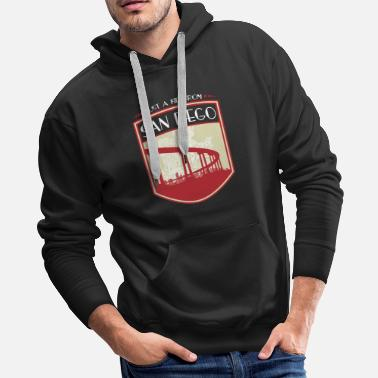 Story Kid from San Diego - It's where my story begins - Men's Premium Hoodie