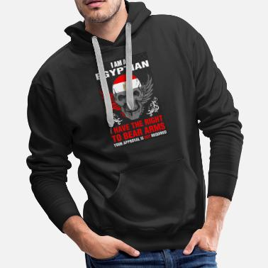 Require I Am A Egyptian - Men's Premium Hoodie