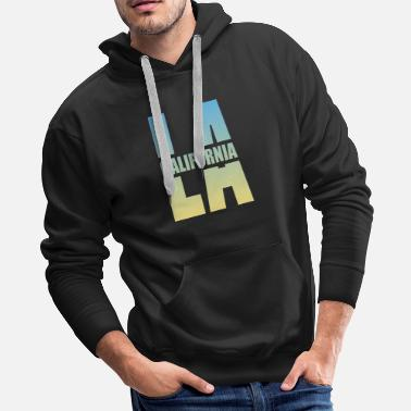 Los Angeles Los Angeles California - Men's Premium Hoodie