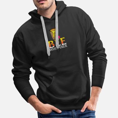 Planet Beewhisperer - honey, beekeepers, bees - Men's Premium Hoodie