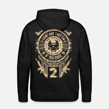 Gun Girl Gun Rights - Come And Take'em Color - Men's Premium Hoodie