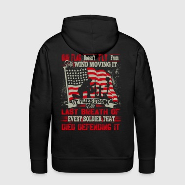 Defending Our Flag - Men's Premium Hoodie