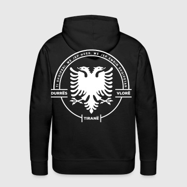 Albanian Cities Badge - Men's Premium Hoodie