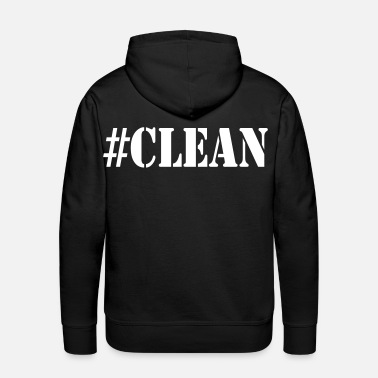 Cleaning #CLEAN - Men's Premium Hoodie