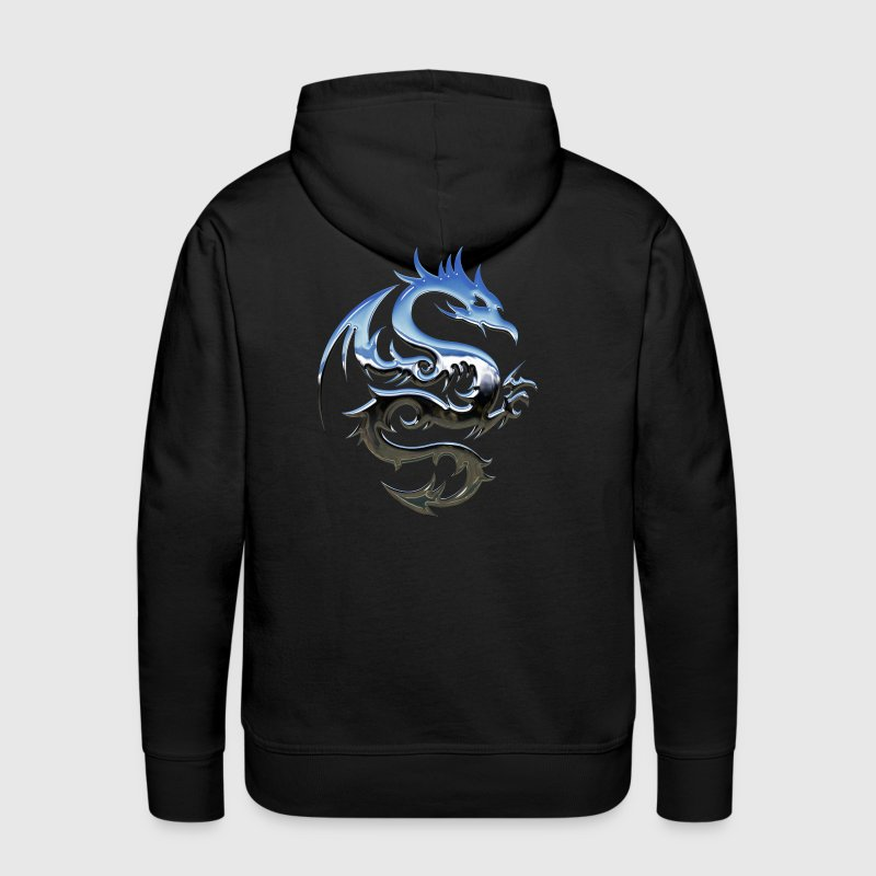 Blue dragon - Men's Premium Hoodie